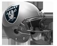Raiders helmet