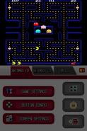 Namco Museum DS - Pac-Man (horizontal full, sharp) (DeSmuME 0.9.11)