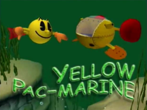 File:Yellow Pac-Marine Title Screen.png