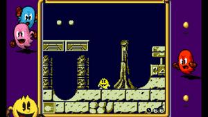 Pac-In-Time screenshot level 1 (Super GB)
