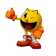 Pac-Man Party's Pacman (W. Wink)