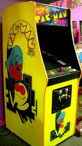 File:Pac-Man Plus Arcade Machine.jpeg