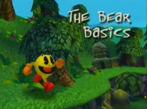 The Bear Basics Title Screen