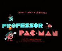 Professor pac-man title