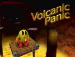 Volcanic Panic Title Screen