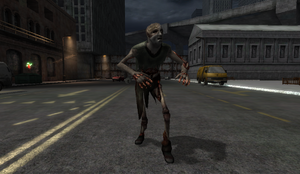 Explosive Zombie in Dead City