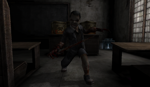 Evil Boy in Orphanage