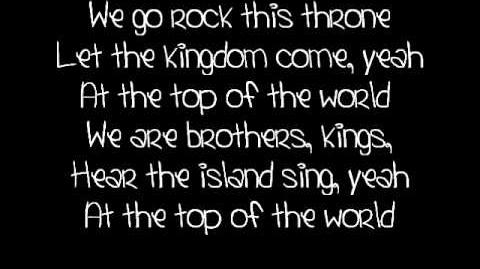 Top of the world- Mitchel Musso lyrics