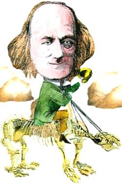 Sir Richard Owen Cartoon