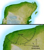 Chicxulub radar topography