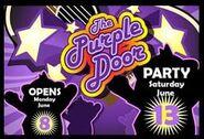 Pandanda The Purple Door Poster