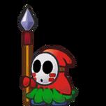 Paper Spear Guy
