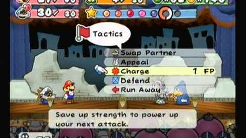 Paper Mario TTYD Backwalk glitch without super boots