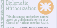 Diplomatic Authorization