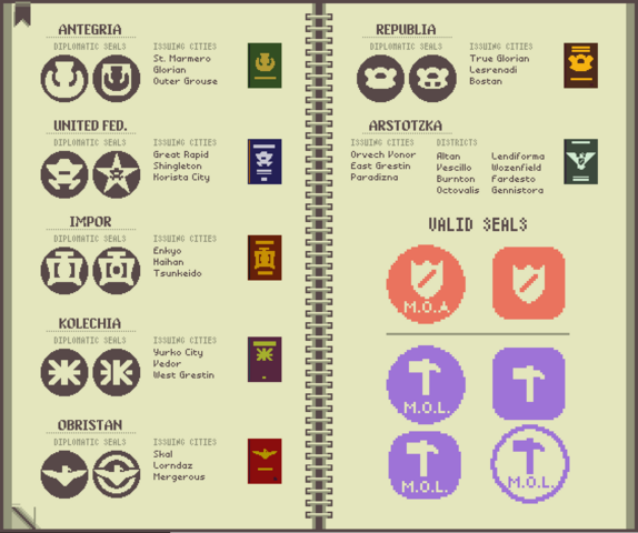 File:Papers Please - Countries & Seals.png