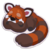 Sticker Red Panda