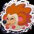 Sticker Hedgehog Brown
