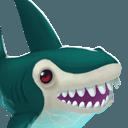 Shark portrait