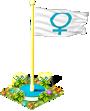 Flag venus