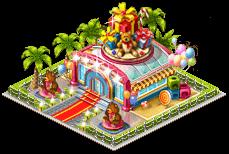 Birthday toy museum