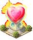 VD decor loving heart