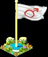 Flag mars