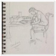 Jordan position sketch pencil by jadis