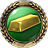 V badge GoldbrickersBadge