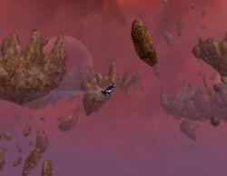 Flyingtheshards
