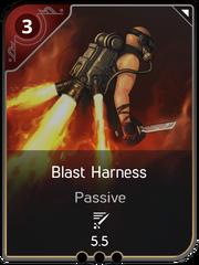 Blast Harness card