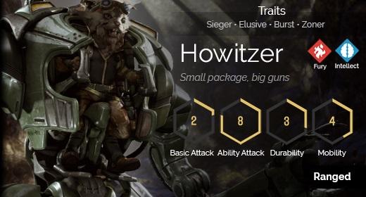 Howitzer hover