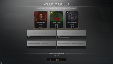 Weekly Quests