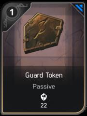 Guard Token card