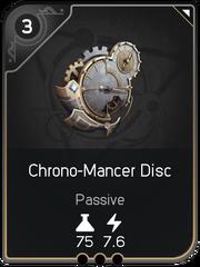 Chrono-Mancer Disc card