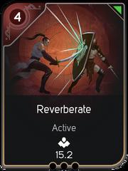 Reverberate card