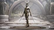 Countess Golden Masque skin