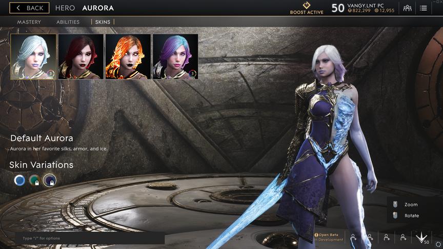 Aurora Purple Default skin