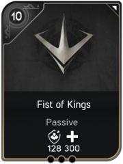 Fist of Kings card