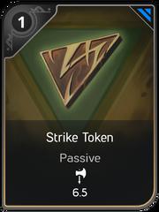 Strike Token card