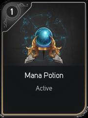 Mana Potion card