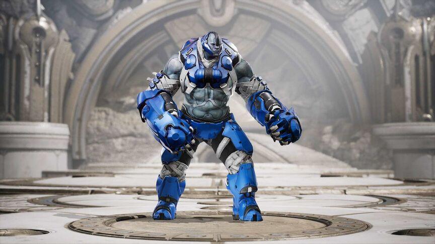 Steel Cobalt skin