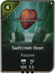 Swiftcreek Heart card