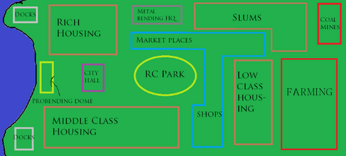 Rough parallel rc map