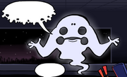 Whale frog ghost