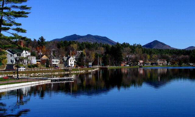 File:Saranac Lake - Lake Flower.jpg