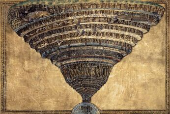 Sandro Botticelli - The Abyss of Hell - WGA02853