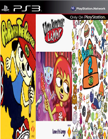 File:PaRappa the Rapper collection.png