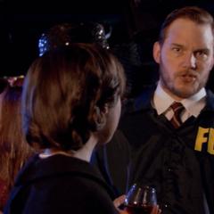 Andy as Bert Macklin, FBI