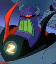 Zurg in Buzz Lightyear of Star Command The Adventure Begins