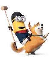 Kevin ride dog